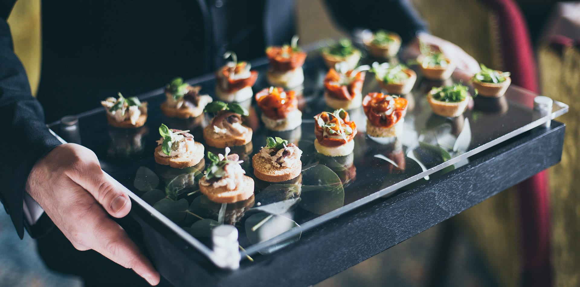Canapes are the Perfect Addition to Any Wedding Reception